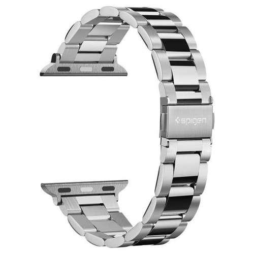 Paska opaska bransoleta SPIGEN MODERN FIT BAND APPLE WATCH 1/2/3/4/5 (38/40MM) SILVER