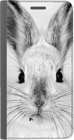 Portfel DUX DUCIS Skin PRO Czarno-biały zając na Huawei Honor 7x