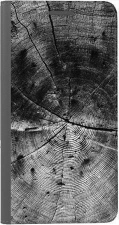 Portfel DUX DUCIS Skin PRO czarne drewno na Huawei Honor 10