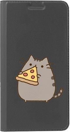 Portfel DUX DUCIS Skin PRO koteł z pizzą na Huawei Honor 7x