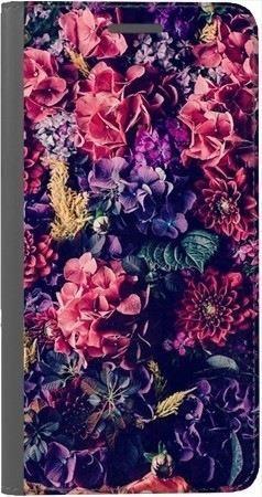 Portfel DUX DUCIS Skin PRO kwiatowa kompozycja na Xiaomi Redmi Note 5a