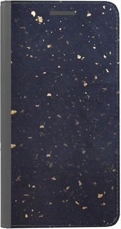 Portfel DUX DUCIS Skin PRO lastriko granatowe na Huawei Honor 7x