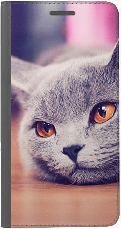 Portfel DUX DUCIS Skin PRO lazy cat na Huawei Honor 7x