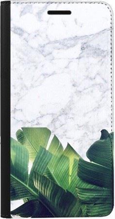 Portfel DUX DUCIS Skin PRO marmurowe liście na Samsung Galaxy A70