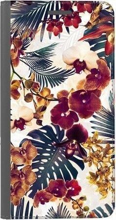 Portfel DUX DUCIS Skin PRO tropikalne kwiaty na Xiaomi Redmi Note 5a