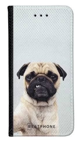 Portfel Wallet Case LG G8 ThinQ grumpy mops