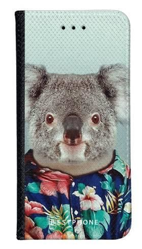 Portfel Wallet Case LG G8 ThinQ koala w koszuli