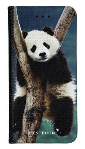 Portfel Wallet Case LG G8 ThinQ panda na drzewie