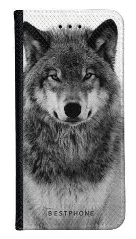 Portfel Wallet Case LG G8 ThinQ spokojny wilk