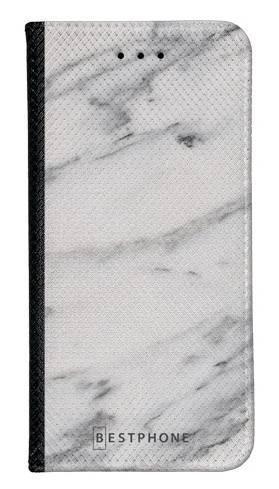 Portfel Wallet Case LG G8 ThinQ szary marmur