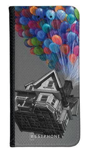Portfel Wallet Case LG K40 dom balony