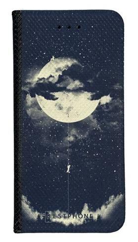 Portfel Wallet Case LG K40 księżyc