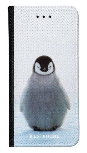 Portfel Wallet Case LG K40 pingwinek