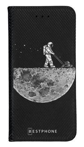 Portfel Wallet Case Samsung Galaxy A10e astronauta i księżyc
