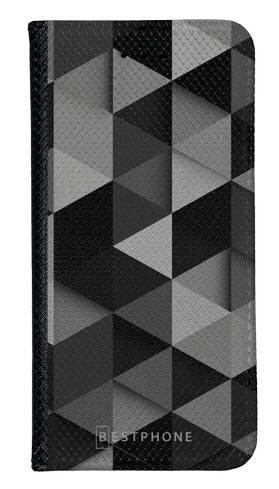 Portfel Wallet Case Samsung Galaxy A10e czarne trójkąty