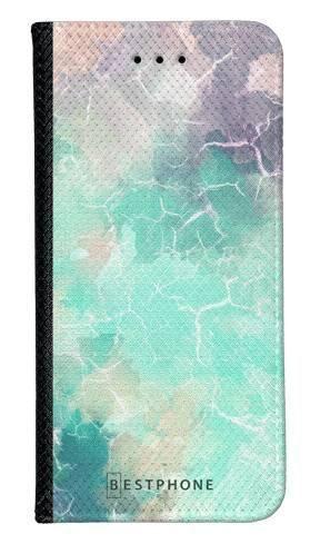 Portfel Wallet Case Samsung Galaxy A20e zielony kamień