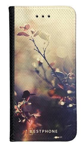Portfel Wallet Case Samsung Galaxy A5 kwiatki w słońcu