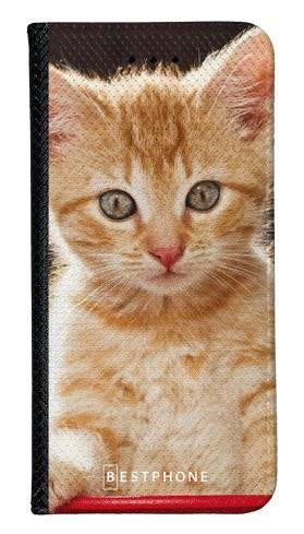 Portfel Wallet Case Samsung Galaxy A5 rudy kot