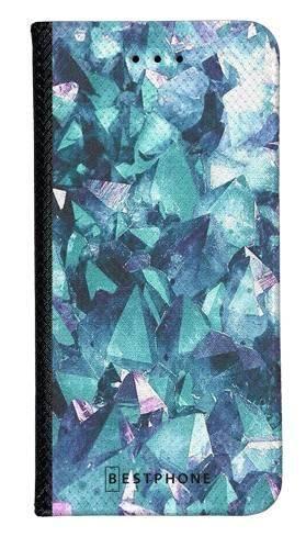 Portfel Wallet Case Samsung Galaxy A60 kryształ