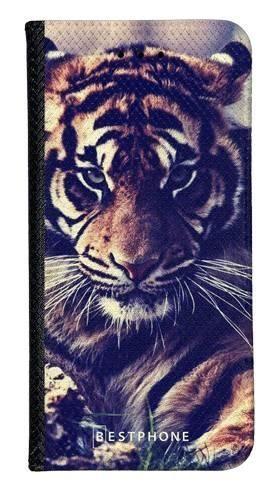 Portfel Wallet Case Samsung Galaxy A60 mroczny tygrys