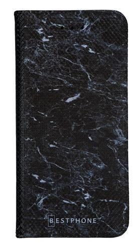 Portfel Wallet Case Samsung Galaxy Core Prime czarny marmur