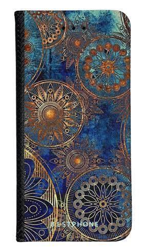 Portfel Wallet Case Samsung Galaxy Note 10 Pro azteckie kształty