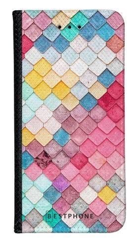 Portfel Wallet Case Samsung Galaxy Note 10 Pro kolorowe płytki