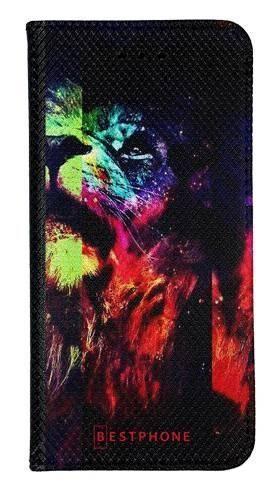 Portfel Wallet Case Samsung Galaxy Note 10 Pro kolorowy lew