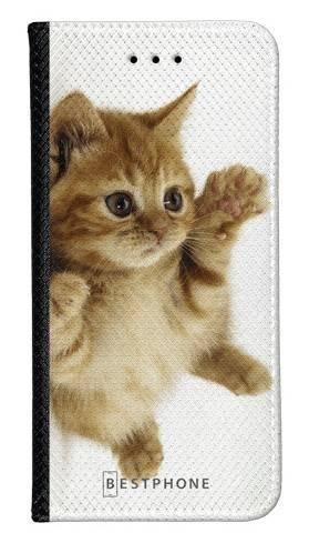 Portfel Wallet Case Samsung Galaxy Note 10 kociak