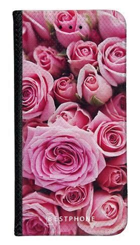 Portfel Wallet Case Samsung Galaxy Note 10 różowe róże