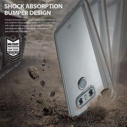 RINGKE FUSION LG G6 SMOKE BLACK