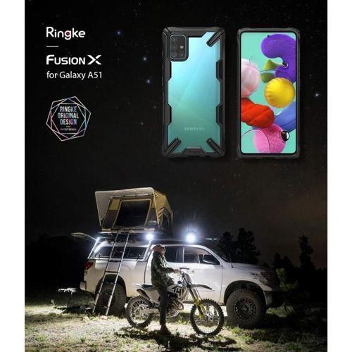 RINGKE FUSION X GALAXY A51 BLACK