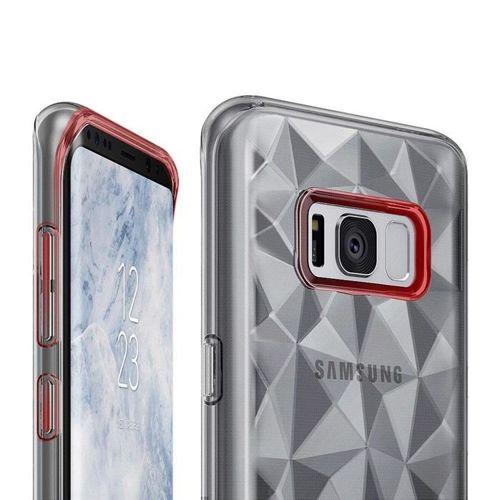 Ringke Air Prism designerskie żelowe etui pokrowiec 3D Samsung Galaxy S8 G950 przezroczysty (APSG0001-RPKG)