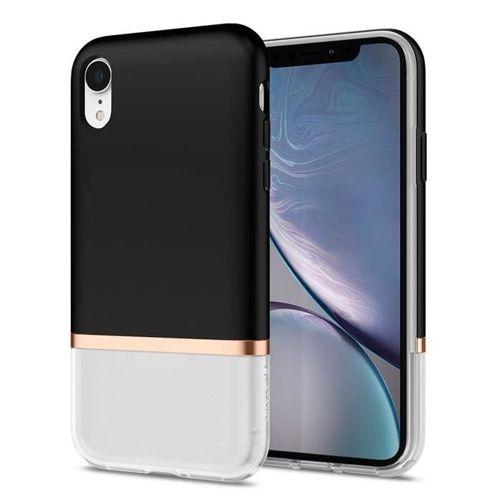 SPIGEN LA MANON JUPE IPHONE XR MILK BLACK