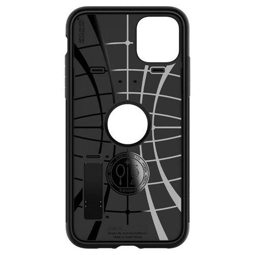 SPIGEN SLIM ARMOR IPHONE 11 PRO BLACK +szkło 3MK HG Lite
