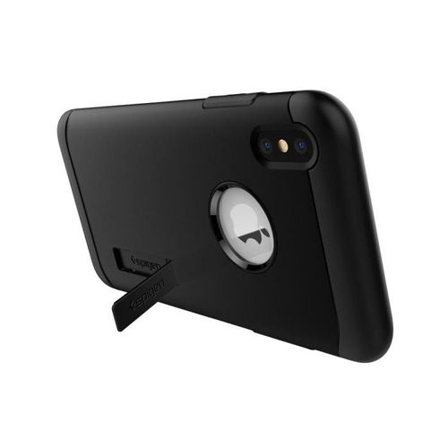 SPIGEN Slim Armor iPhone XS black + szkło 5D UV