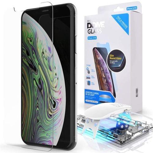 SZKŁO HARTOWANE WHITESTONE DOME GLASS IPHONE XS MAX CLEAR