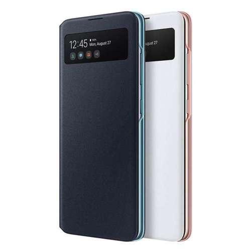 Samsung S View Wallet etui kabura bookcase z inteligentną klapką okienkiem Samsung Galaxy A51 biały (EF-EA515PWEGEU)