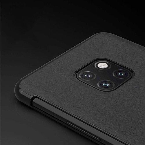 Sleep Case pokrowiec etui z klapką typu Smart Cover Huawei Mate 20 Pro różowy