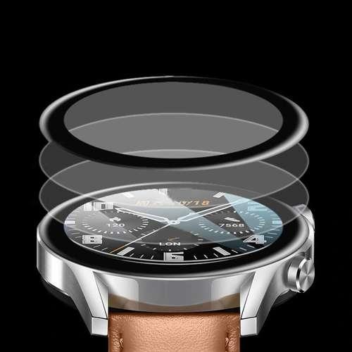 Szkło Hybrydowe FULL 3D Huawei Watch GT 2 PRO 46mm czarny