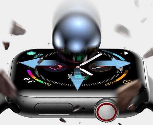 Szkło Hybrydowe FULL GLUE 5D do Huawei Watch FIT czarny
