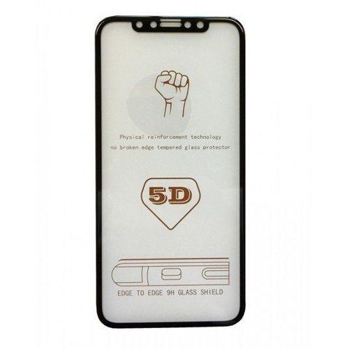 Szkło hartowane 5D Moto G6 Play Full glue czarne