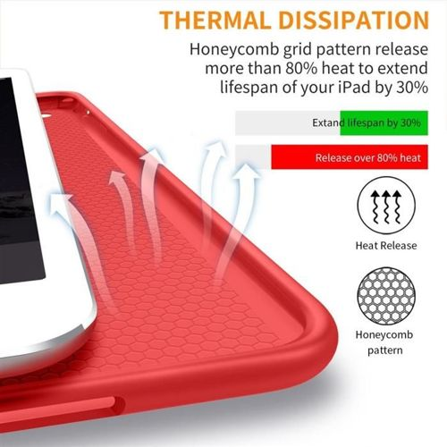 TECH-PROTECT Etui SMARTCASE IPAD MINI 1/2/3 RED