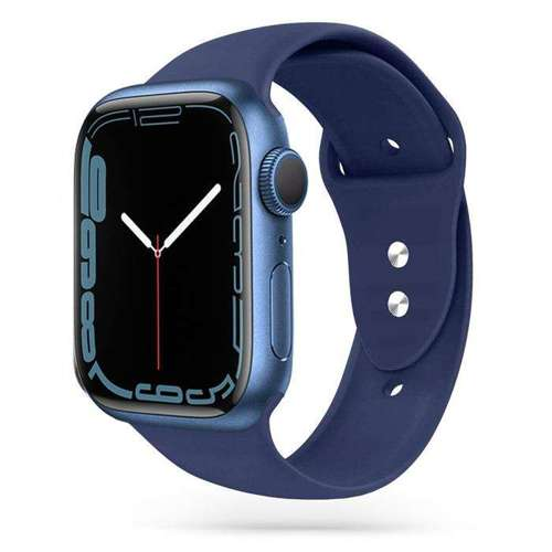 TECH-PROTECT SMOOTH opaska pasek bransoleta BAND APPLE WATCH 1/2 (42MM) NAVY