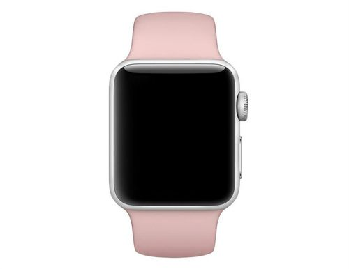 TECH-PROTECT SMOOTH opaska pasek bransoleta BAND APPLE WATCH 1/2 (42MM) PINK SAND