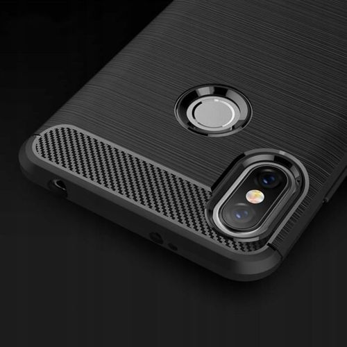 TECH-PROTECT etui TPUCARBON XIAOMI REDMI NOTE 6 PRO BLACK