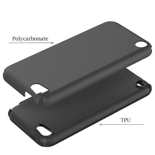 TECH-PROTECT opaska pasek bransoleta SMOOTH HYBRID IPOD TOUCH 5/6 BLACK
