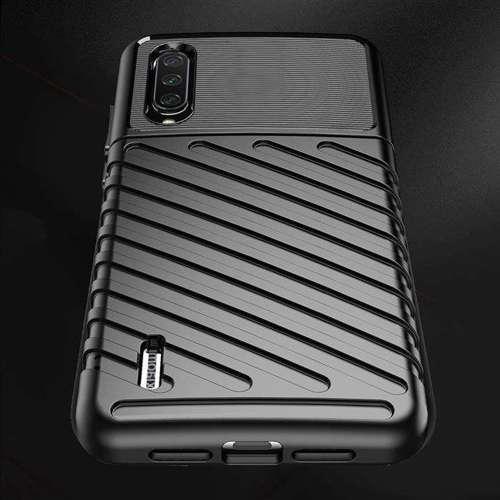Thunder Case elastyczne pancerne etui pokrowiec Xiaomi Mi CC9e / Xiaomi Mi A3 niebieski