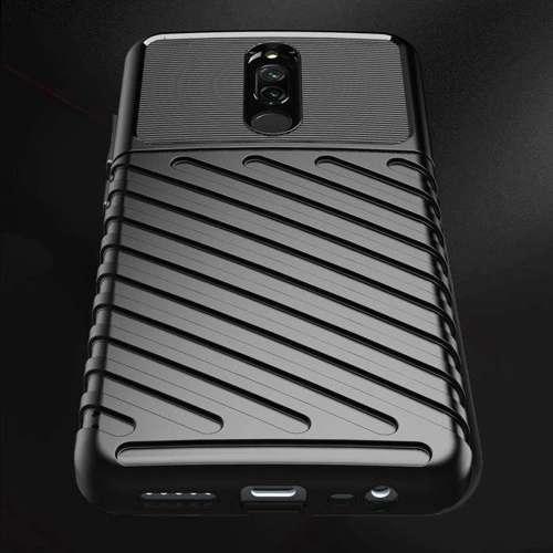 Thunder Case elastyczne pancerne etui pokrowiec Xiaomi Redmi 8 czarny