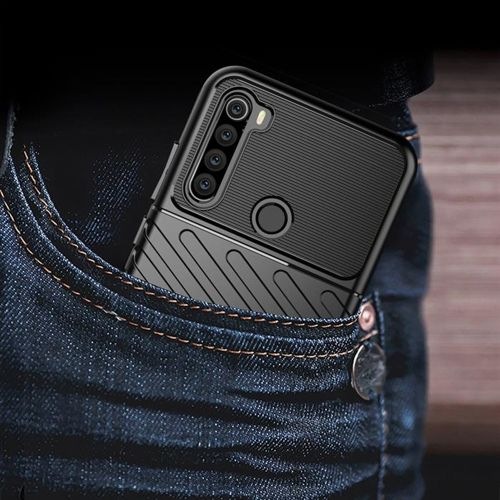 Thunder Case elastyczne pancerne etui pokrowiec Xiaomi Redmi Note 8T zielony
